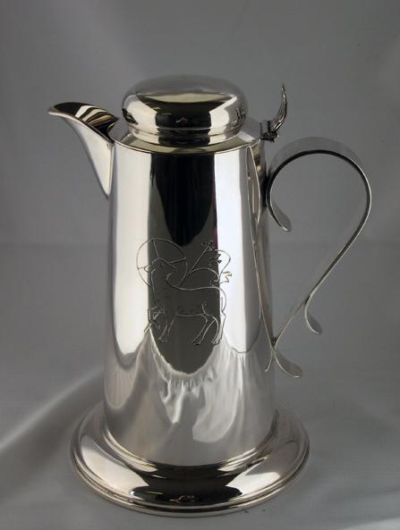 Silver communion jug