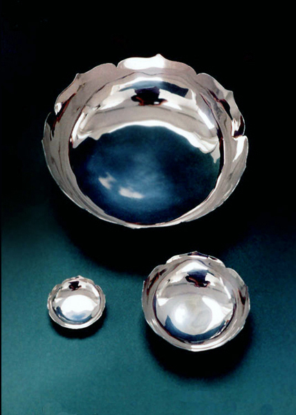 silver lotus bowls